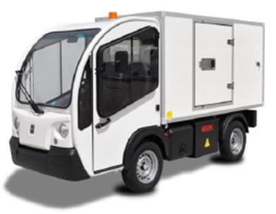 Электрокар G3-2. Фургон изотермический