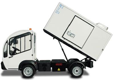 Электрокар G3-2. Фургон рефрижератор