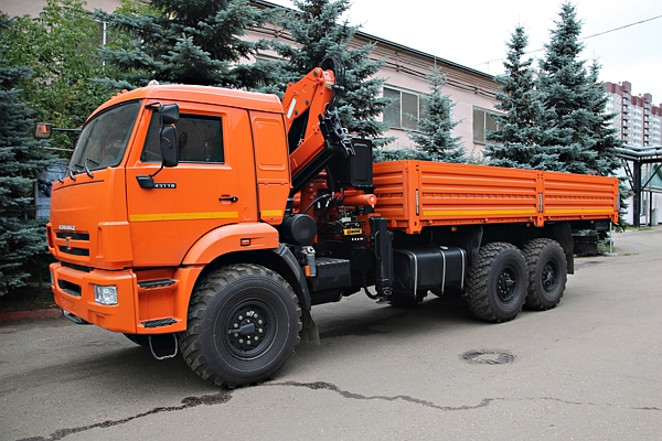 КАМАЗ 43118 с КМУ ATLAS CS 145 A2