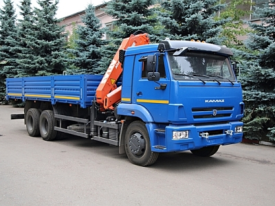 КАМАЗ 65117 с КМУ ATLAS 145 CS A2