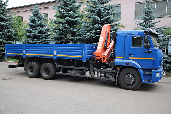 КАМАЗ 65117 с КМУ ATLAS AK 145 DCS A2