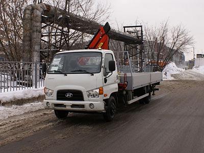 Hyundai HD-78 с КМУ Stern STMR 078.2