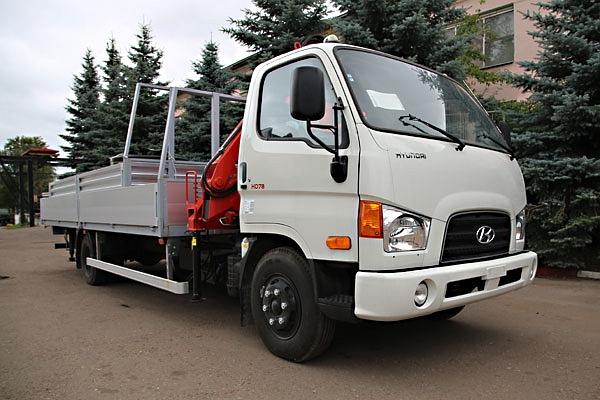 Hyundai HD-78 с КМУ Stern STMR 070.2