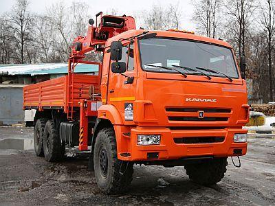 КАМАЗ 43118 с КМУ KANGLIM KS-1256 G-II