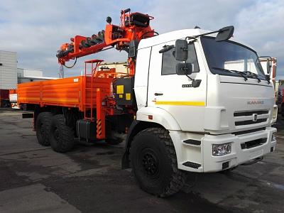 КАМАЗ 43118 с КМУ KANGLIM KS-2056
