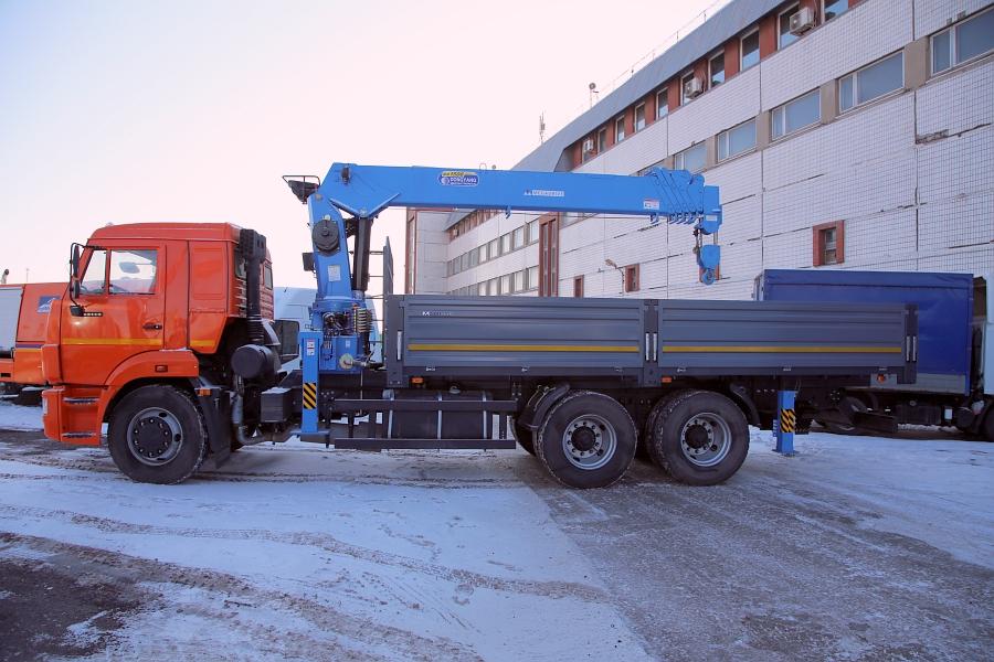 КАМАЗ 65117 с КМУ DONGYANG SS 1506