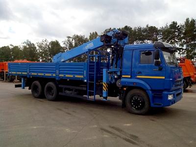 КАМАЗ 65115 с КМУ DongYang SS2036