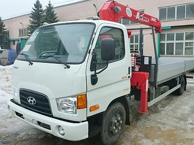 Hyundai HD-78 КМУ UNIC 374