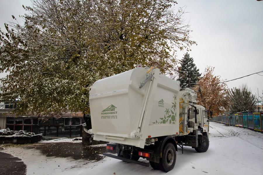 Коминвест-АКМТ пополнило линейку газомоторных мусоровозов