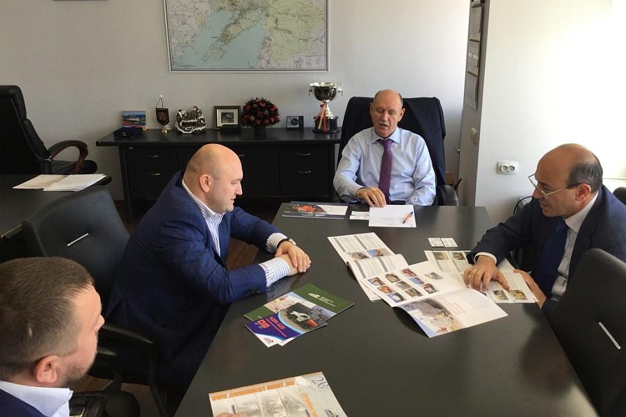 Встреча АО «Коминвест-АКМТ» с вице-губернатором Приморья