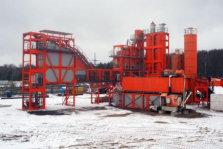 Асфальтобетонного завод циклического типа ДС-1600