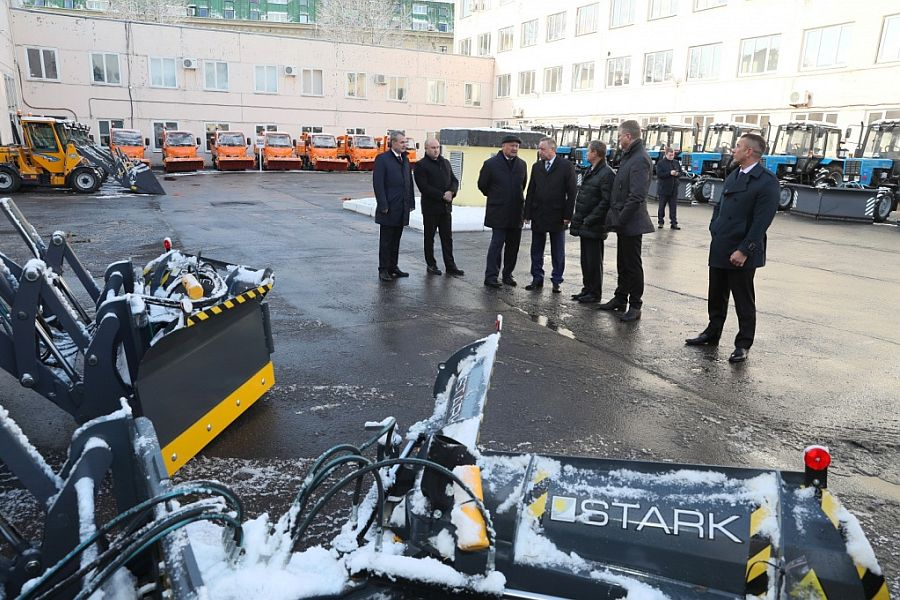 Губернатор Санкт-Петербурга Александр Беглов посетил площадку СПБ ГУДП