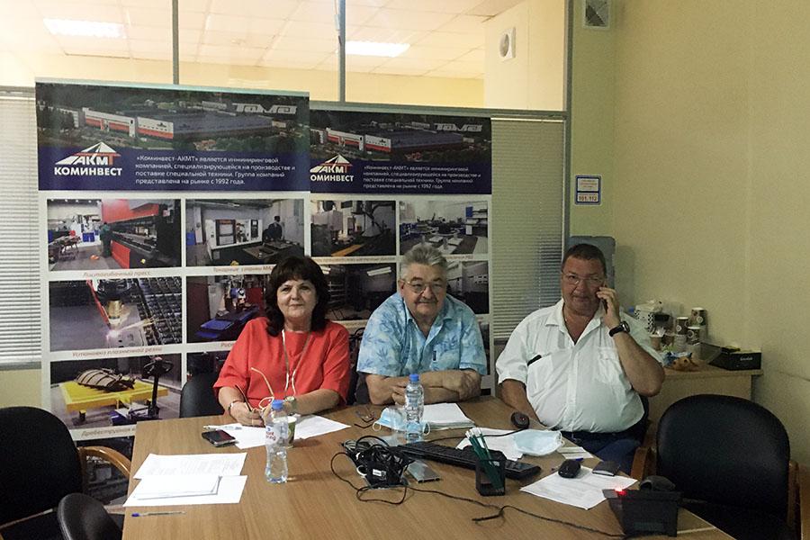 Коминвест-АКМТ принял участие в он-лайн выставке «ДортраннсЭкспо»