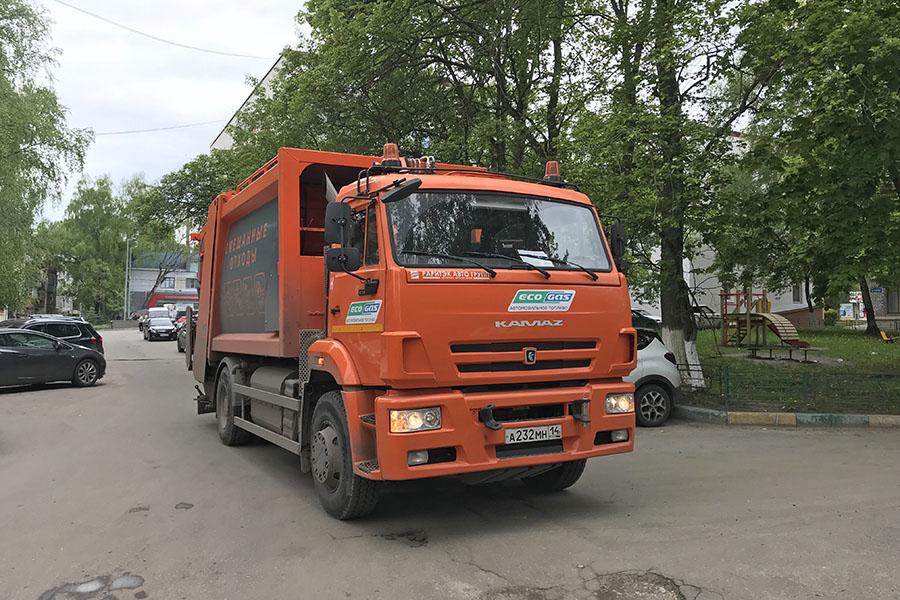 В Нижнем Новгороде тестируют работу мусоровозов на газомоторном топливе